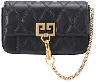 Givenchy Mini Pocket leather shoulder bag