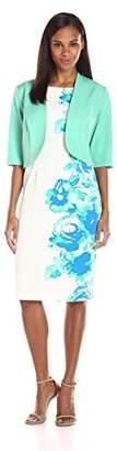 Maya Brooke Women's Sheath Dress with Jacket Set