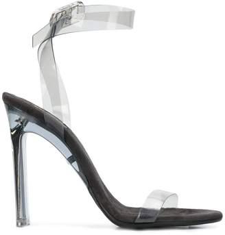 Yeezy mid-heel strappy sandals
