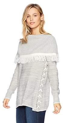 Ella Moon Women's Keya French Yoke Collar Sweater