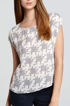 Joie Houndstooth Posher Top