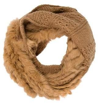 Diane von Furstenberg Fur Infinity Scarf w/ Tags