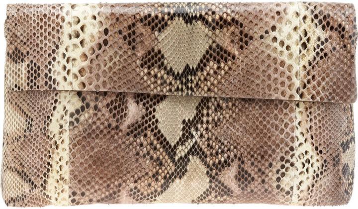 Devi Kroell Small Envelope Bag - Buff Brown