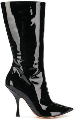 Y/Project Y / Project pointed toe boots