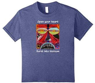 Open Your Heart Native Tribal Totem Face Mindfulness T-shirt