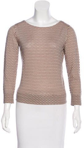 Marc Jacobs Marc Jacobs Wool Printed Top