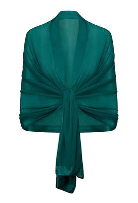 Ghost Zara Shawl Emerald Sea