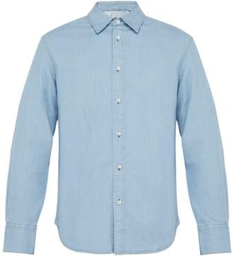 Rag & Bone Single Cuff Denim Shirt - Mens - Blue
