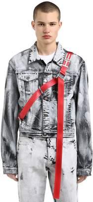 Black Ashes Hand-Painted Denim Jacket