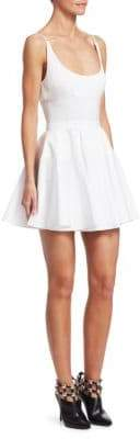 Alexander Wang Combo Fit-and-Flare Dress