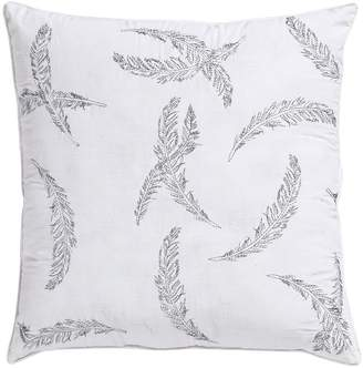Vcny VCNY Feathers Metallic Throw Pillow