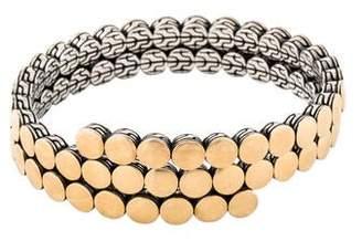 John Hardy Two-Tone Coil Bracelet