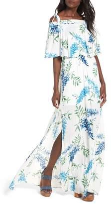 Show Me Your Mumu Nicola Ruffle Maxi Dress