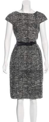 Michael Kors Woven Midi Dress