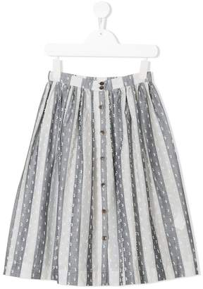 Caffe Caffe' D'orzo Odina striped skirt