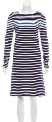 Derek Lam Knee-Length Striped Dress