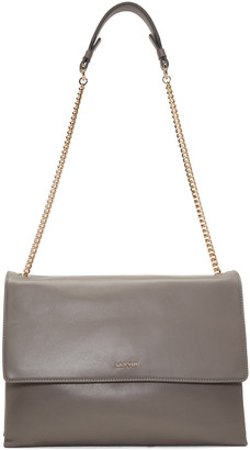 Lanvin Grey Medium Sugar Bag $1,995 thestylecure.com