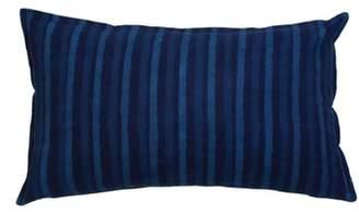 Pom Pom at Home Indigo Stripe Accent Pillow