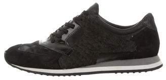 Alexander Wang Dillon Fish Skin Sneakers