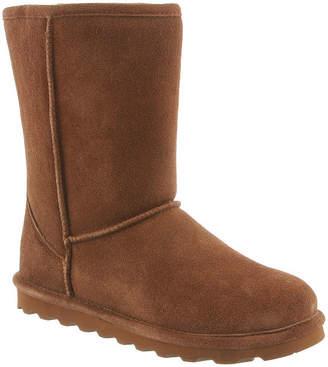 BearPaw Womens Elle Winter Boots Water Resistant Flat Heel Pull-on
