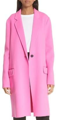 Helmut Lang Double Face Wool & Cashmere Coat