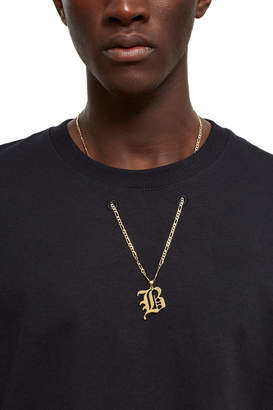 Barragán Black B Pendant Graphic Tee