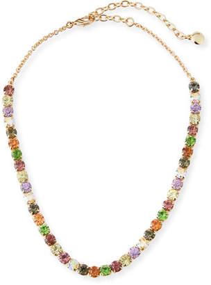 BaubleBar Laurence Multicolor Crystal Necklace