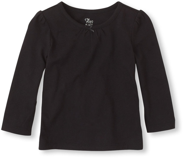 Children's Place Toddler Girls Long Sleeve Layering Tee