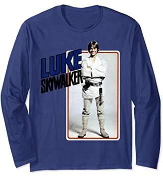 Star Wars Luke Skywalker Smiling Card Long Sleeve Tee