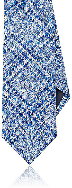 Barneys New YorkBarneys New York Men's Plaid Wool-Blend Necktie