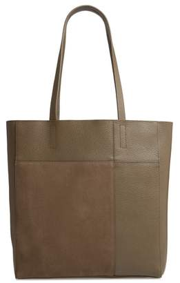 Treasure & Bond Andi Leather & Suede Tote