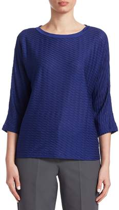 Armani Collezioni Women's Crewneck Wool Sweater