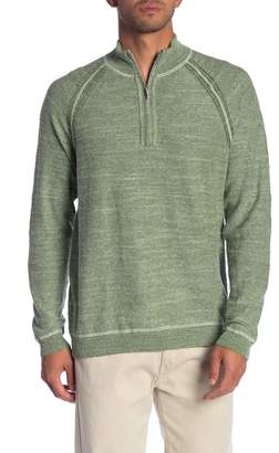 Tommy Bahama Sandy Bay Flip Half Zip Sweater