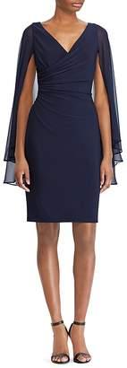 Lauren Ralph Lauren Slit-Sleeve Jersey Dress