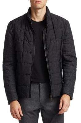 Saks Fifth Avenue COLLECTION Mixed Media Jacket
