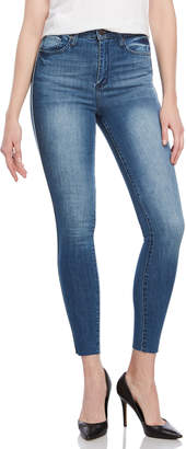 William Rast Super High-Waisted Skinny Jeans