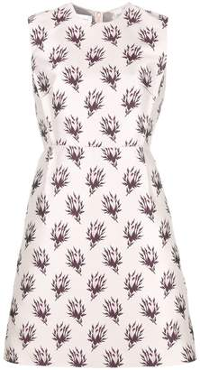 Giambattista Valli embroidered sleeveless dress