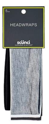 "Scunci 2.5"" Interlock Headwraps - 5pk"