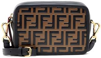 Fendi Mini Camera Case leather shoulder bag