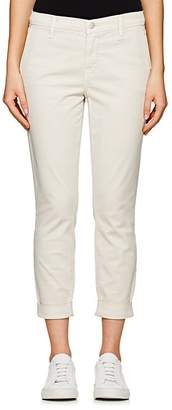 J Brand WOMEN'S JOSIE COTTON-BLEND TAPERED TROUSERS