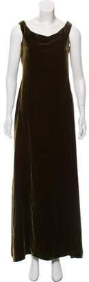 Ralph Lauren Velvet Maxi Dress