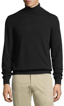 Z Zegna Wool-Cashmere Turtleneck Sweater