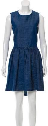 Co 2016 Linen-Blend Dress