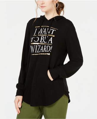Modern Lux Juniors' Wizard Graphic-Print Sweatshirt