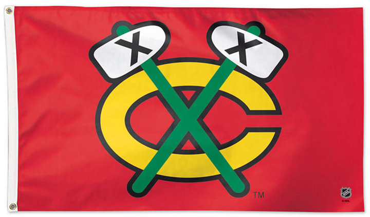 Wincraft Chicago Blackhawks Deluxe Flag
