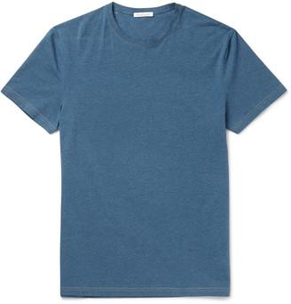 Acne Studios Edvin Mélange Stretch-Cotton T-Shirt $90 thestylecure.com