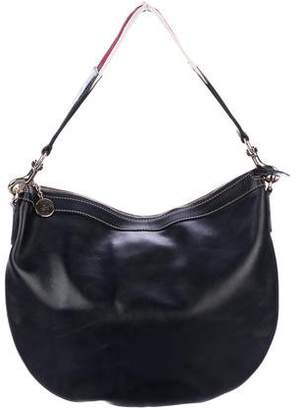 Gucci Leather Web Hobo