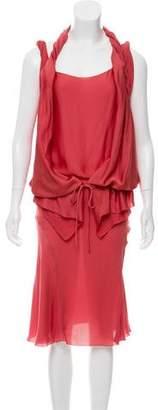 Stella McCartney Mini Long Sleeve Dress