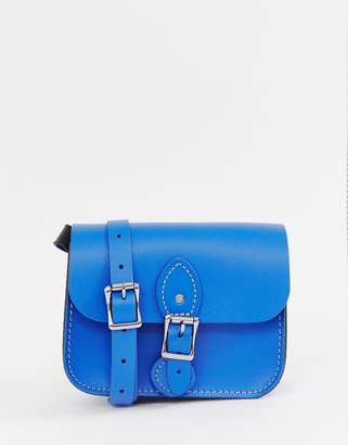 The Leather Satchel Company single buckle medium cross body bag