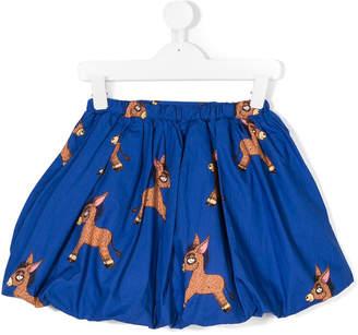 Mini Rodini donkey print skirt